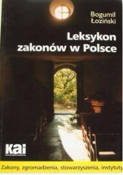 Leksykon zakonów w Polsce