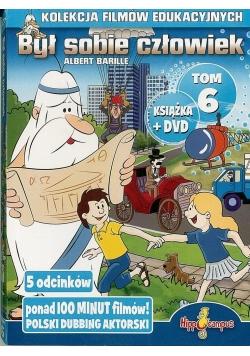 Był sobie człowiek książka+DVD Tom 6