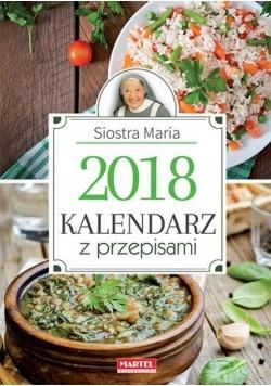 Kalendarz z przepisami Siostry Marii 2018