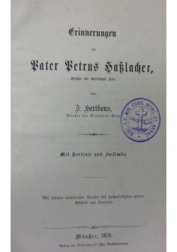Erinnerungen an Vater Betrus Saklacher, 1879 r.
