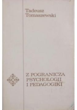 Z pogranicza psychologii i pedagogiki
