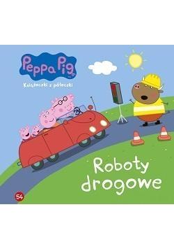Świnka Peppa. Książeczki z.. 54 Roboty drogowe