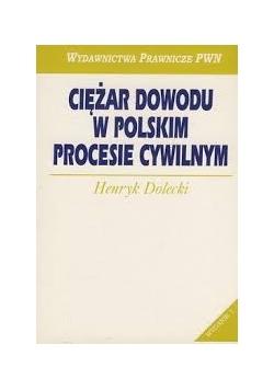 Ciężar dowodu w polskim procesie cywilnym