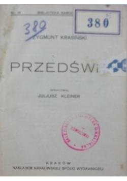 Przedświt, 1922r.