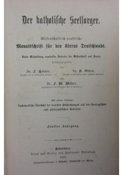 Der Katholische Seelsorger, 1893r.