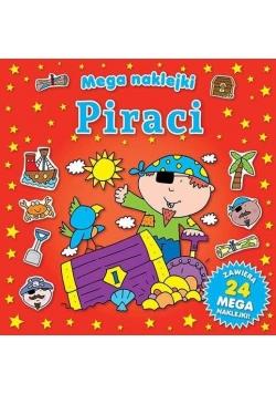 Mega naklejki - Piraci