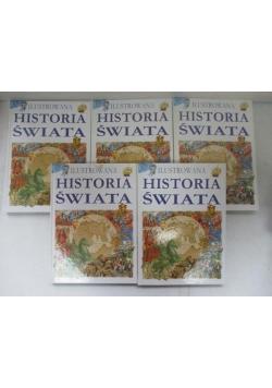 Ilustrowana historia świata, Tom I-V
