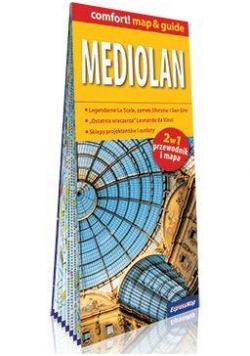 Comfort!map&guide Mediolan 1:12 000 2w1