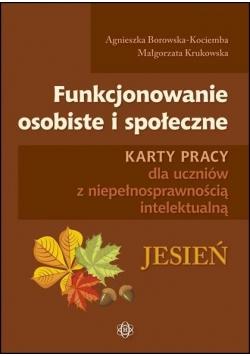 Funkcjonowanie osobiste i społeczne - Jesień KP
