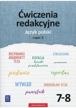 Ćwiczenia redakcyjne 7-8 Język polski Część 2