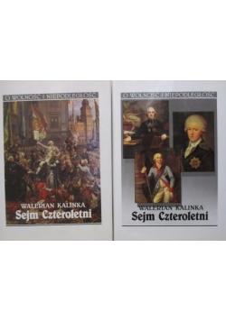 Sejm Czteroletni tom I i II