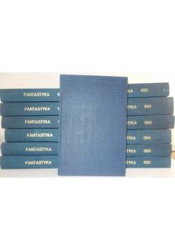 Miesięcznik Fantastyka 1983-1995, 13 tomów