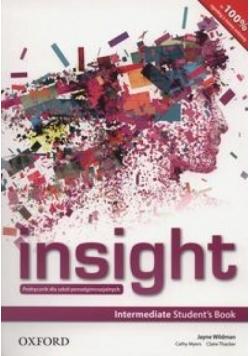 Insight Intermediate SB OXFORD