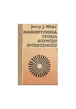 Marksistowska teoria rozwoju społecznego