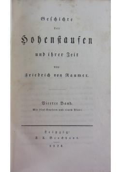 Geschichte der Hohenstaufen und ihrer Zeit , 1824r.