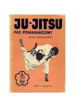 Ju - Jitsu. Pas pomarńczowy