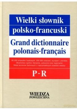 Wielki słownik polsko - francuski, Tom III