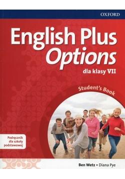 English Plus Options 7 Podręcznik z płytą CD