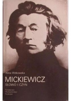 Mickiewicz: słowo i czyn