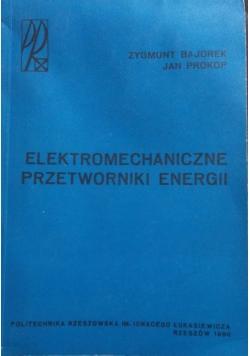 Elektromechaniczne przetworniki energii