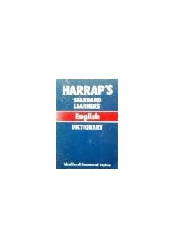 Standard learners English dictionary