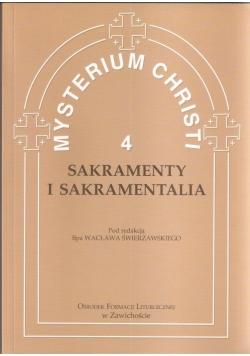 Mysterium Christi 4. Sakramenty i Sakramentalia