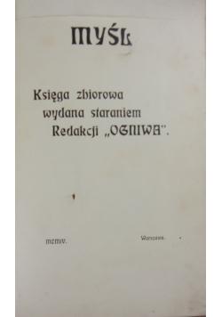 Myśl, 1904r.