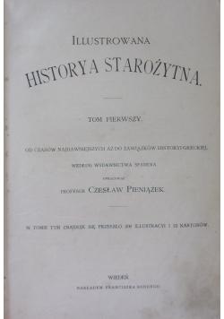 Illustrowana Historya Starożytna,t.I,ok.1900