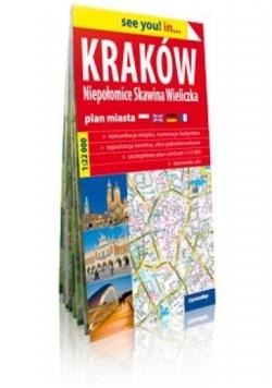 See you! in... Kraków (4w1) 1: 22 000 plan miasta