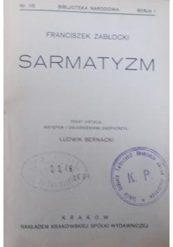 Sarmatyzm, 1928 r.