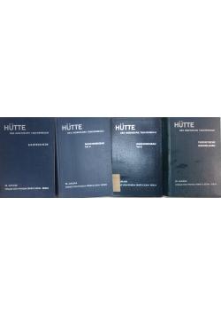 Hutte. Des Ingenieurs Taschenbuch, tom I - IV