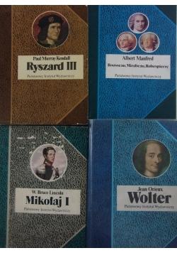 Biografie Sławnych Ludzi,4 ksiązki