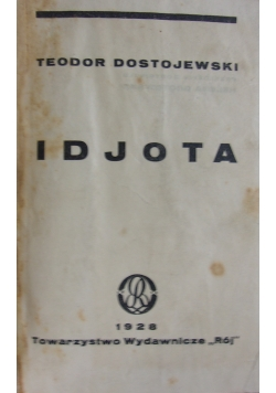 Idjota, 1928r.
