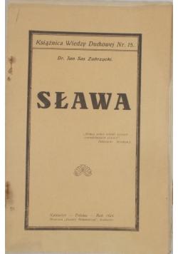 Sława, 1924r.
