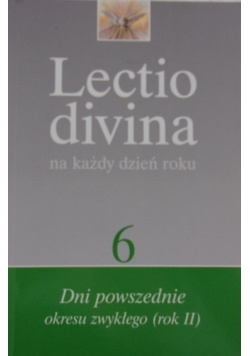 Lectio divina na każdy dzień roku t.6