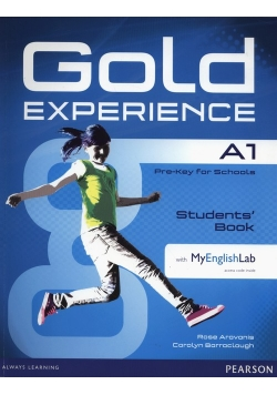 Gold Experience A1 Student's Book + DVD + MyEnglishLab