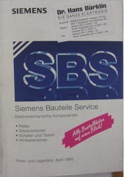 Siemens bauteile servive elektromechanische komponenten
