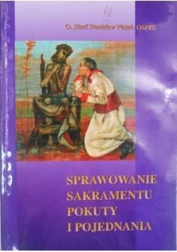 Sprawowanie sakramentu pokuty i pojednania