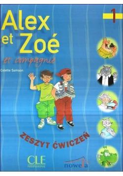 Alex Et Zoe 1 Zeszyt ćwiczeń, nowa