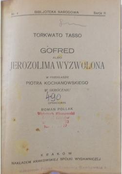 Gofred albo Jerozolima wyzwolona, 1820 r.
