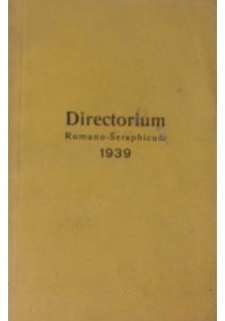 Directorium romano - seraphicum , 1939 r.