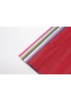 Bibuła gładka 12 kolorów (5szt) FIORELLO