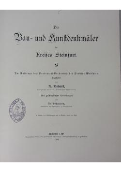 Die bau und kunstdenkmaler des kreises beckum, 1897 r.