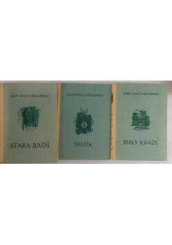 Zestaw trzech książek-Biały książę/Jelita/Stara baśń