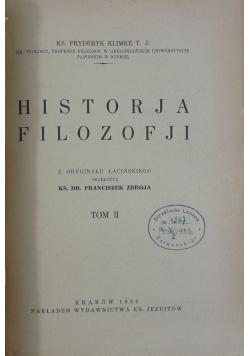 Historja filozofji Tom II, 1930 r.
