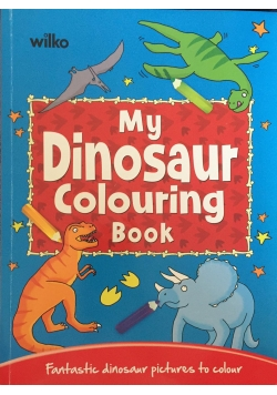 My Dinosaur Colouring Book, Nowa