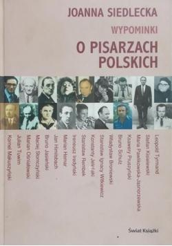 Wypominki o pisarzach polskich