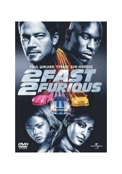 Fast and furious 2, Płyta DVD