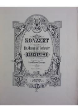 Liszt, Konzert a dur fur Klavier und Orchester