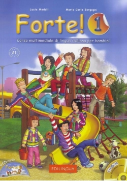 Forte! 1 Podręcznik + ćwiczenia + 2 CD